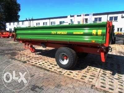 Przyczepa jednoosiowa PRONAR T671 5 ton / 8,2 m ³