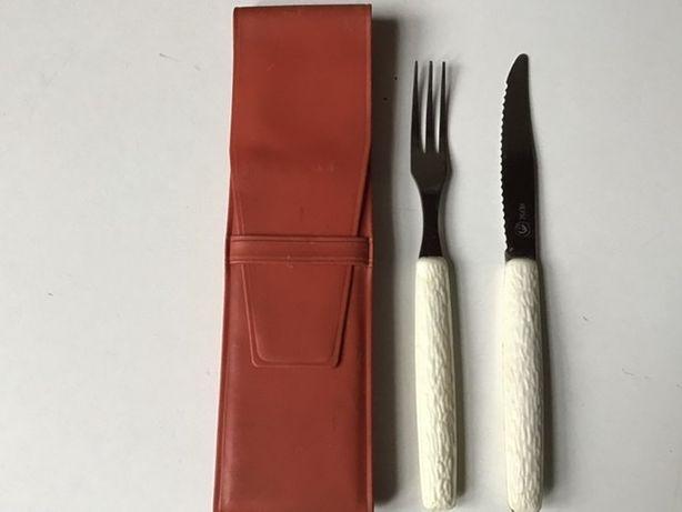 Дорожный туристический набор (вилка, нож) СССР