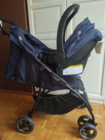 Wózek spacerowy parasolka 2w1 3w1 fotelik 0-13kg