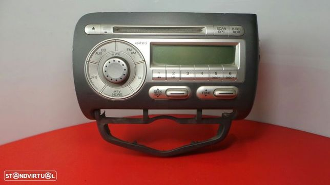 Auto-Rádio (Cd) Honda Jazz Ii (Gd_, Ge3, Ge2)