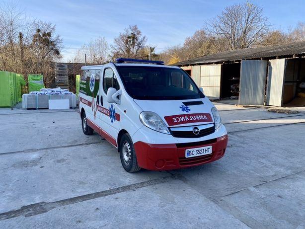 Opel Vivaro швидка медична допомога ambulance амбулянс