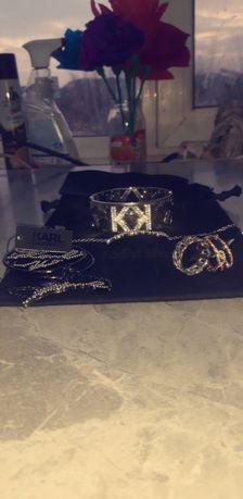 Sprzedam w atrakcyjnej cenie orginalną biżuterię KARLA LAGERFIELDA