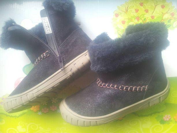 Продам детские сапожки ботинки 27размер оригинал GEOX