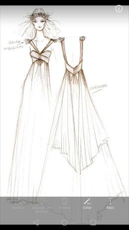 Vestido de noiva por Estilista