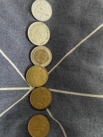 Sprzedam monety kolekcjonerskie pakiet