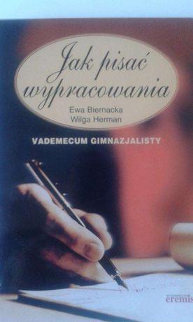 Ksiazka ,Jak pisac wypracowania