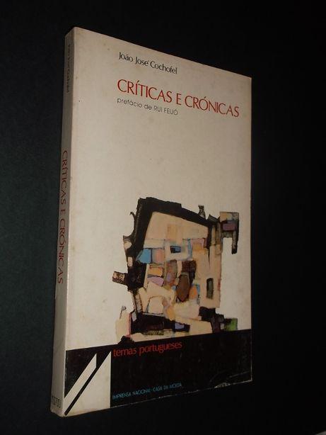 João José Cochofel-Críticas e Notas,Prefácio de Rui Feijó;