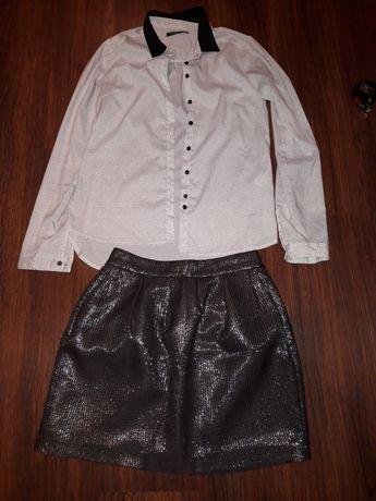 Zestaw spódniczka +koszula