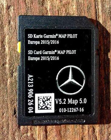 Mercedes GARMIN MAP karta SD Map Pilot