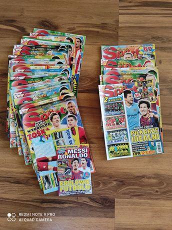 Gazety Bravo Sport z roku 2011 oraz 2012 z DODATKAMI