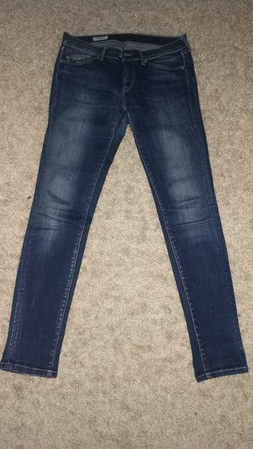 Spodnie jeansy Pepe jeans damskie 32 na 32 skinny fit slim leg
