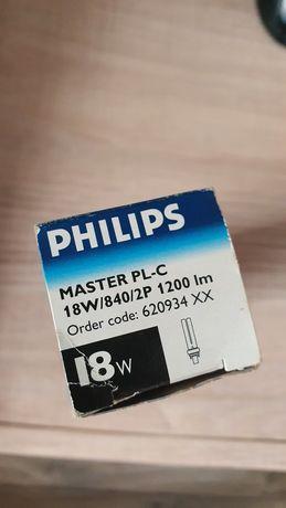 Люминесцентная лампа энергосберегающая PHILIPS master PL-С 2P 18W G24d
