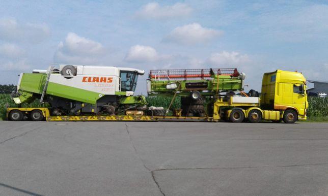 TransportMaszyn rolniczych leśnych Sieczkarnia Ciągnik Traktor Kombajn