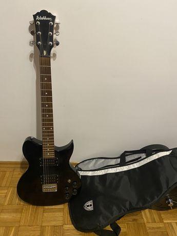 Gitara Elektryczna WI14 Idol Black i pokrowiec
