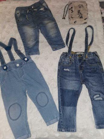 Zestaw jeansów chłopięcych