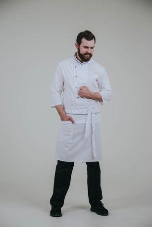 Китель поварской Кітель повара Фартук Форма поварська Костюм