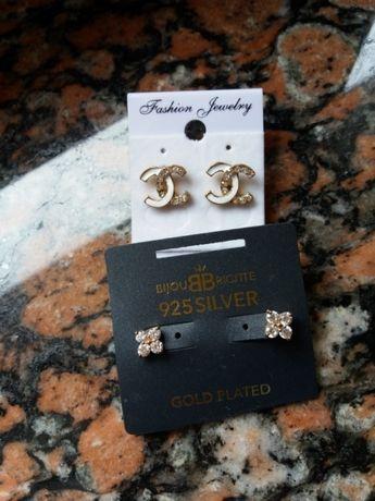 Biżuteria srebrne kolczyki nowe