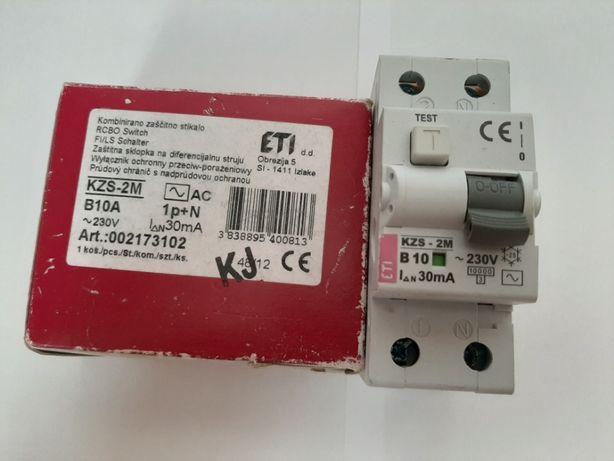 Wyłącznik różnicowoprądowy B10A/30mA