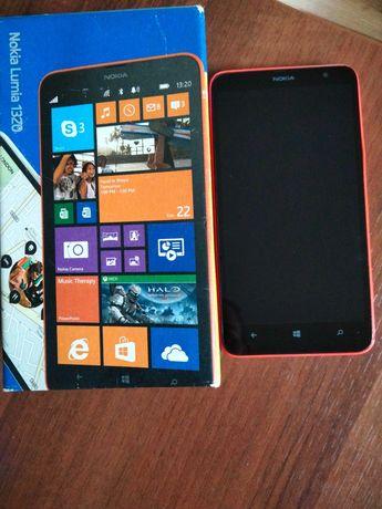 Nokia Lumia 1320 neonowy pomarańcz