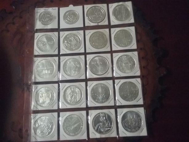 20 Moedas de 1.000$ escudos Novas preço 210€