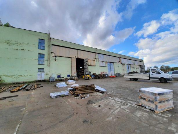Wynajmę halę produkcyjno-magazynowa 1500 m2