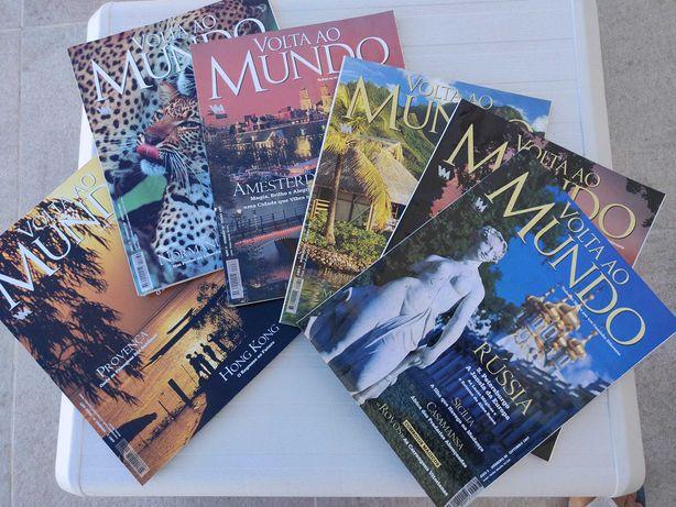 Revista A VOLTA AO MUNDO 1-300