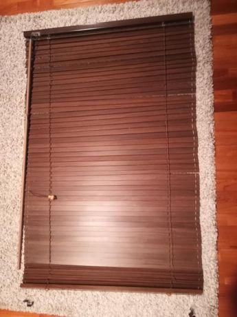 Żaluzje drewniane 74 cm szerokie  116 cm długość