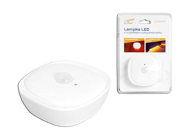 Lampka LED 3W z czujnikiem ruchu/zmierzchu