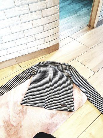 długa bluzka w paski uniwersalna