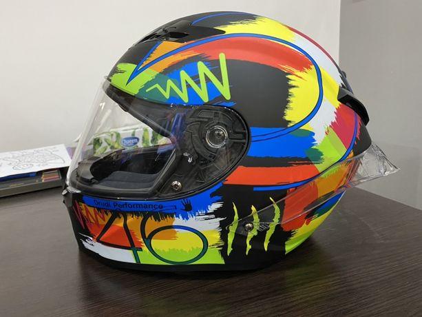 Sprzedam lub zamienie Kask motocyklowy malowanie VR.46 roz. XL