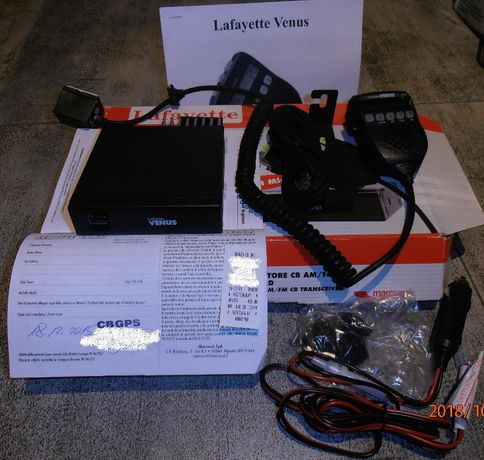 Radio Lafayette Venus z paragonem jak nowe + antena SIRIO AS100 mag125