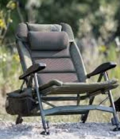 Fotel Solar z zagłówkiem i torbą