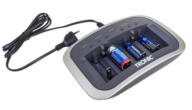 Ładowarka automatyczna akumulatorów AA AAA R6 9V Tronic