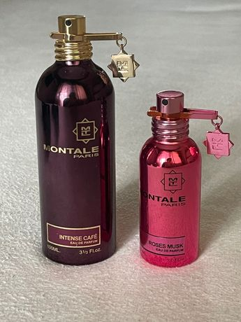 Парфюмерная вода/ духи Montale roses musk, Montale intense cafe