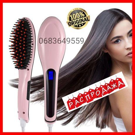Электрическая Расческа выпрямитель плойка утюжок выпрямитель волос