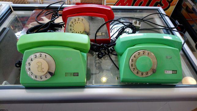 Telefon stacjonajny Rwt, tulipan kręcony