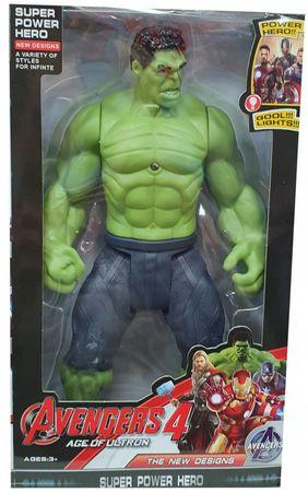 Hulk figurka interaktywna dźwięk avengers 30