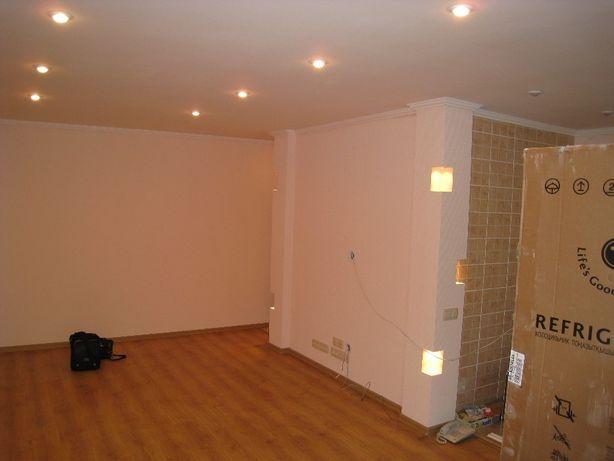 Срочный ремонт офиса или квартиры, покраска стен, потолков, малярка