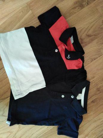 Koszulki h&m 68 cm 4-6miesięcy