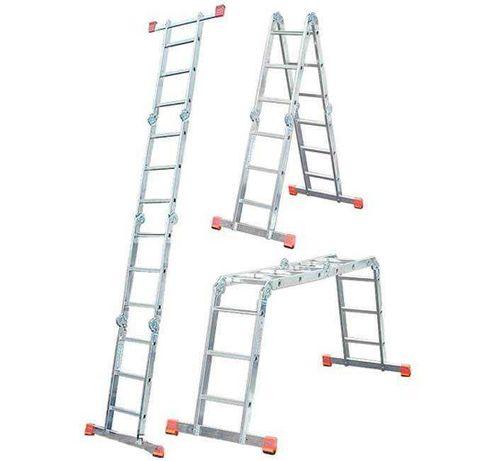 Лестница  алюминиевая трансформер 4*5 krause