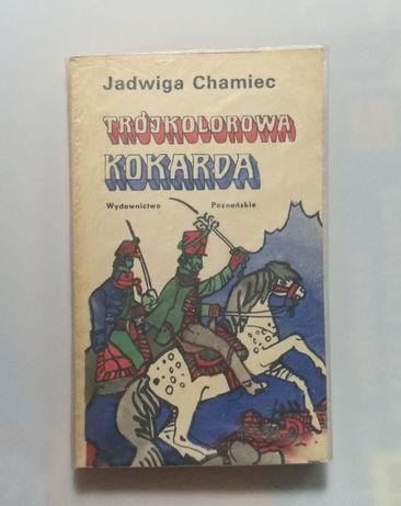 Trójkolorowa kokarda Jadwiga Chamiec