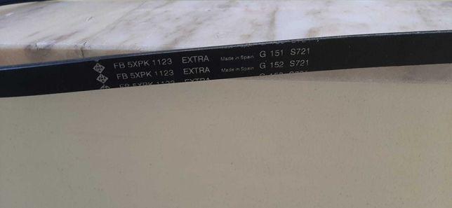 Correia trapezoidal estriada FB 5XPK1123 INA (Volvo)