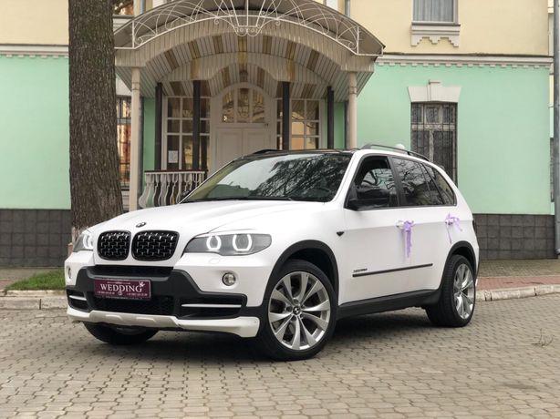 Весільний кортеж BMW X5 black&white