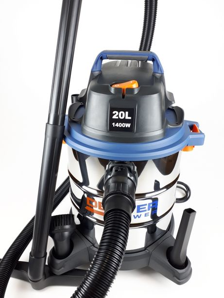Строительный, пылесос 1400Вт вдув/выдув, на автомойку,дом,офис,стройка