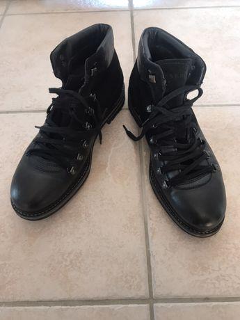 Buty skórzane Reserved jesień zima