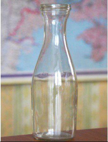 Стеклянная бутылка 1л.