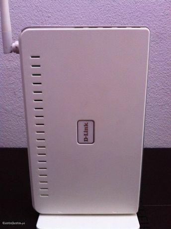 Modem router D-LINK DVA-G3170i/PT (POTS) completo