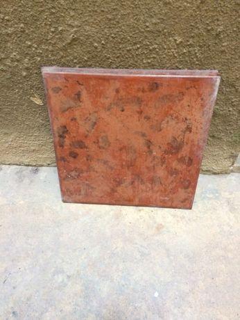 2 placas de revestimento pavimento cerâmico 33x33 cm