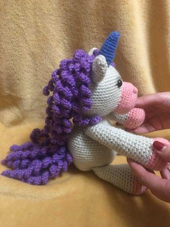 Пони амигуруми единорог єдиноріг поні игрушки