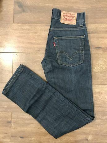 Spodnie jeansy Levi's 511 slim 28/32